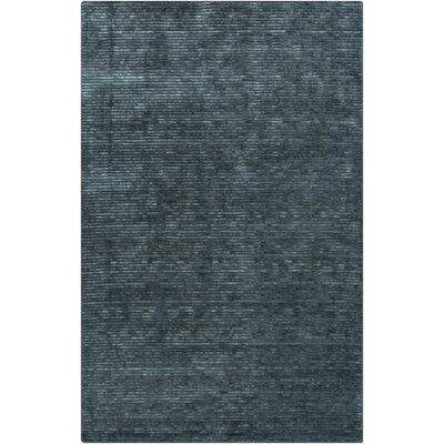 Griffith Teal Blue Area Rug Rug Size: Rectangle 33 x 53