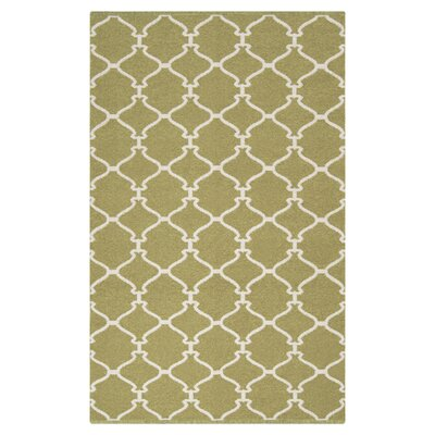 Ravenna Green Area Rug Rug Size: Rectangle 33 x 53