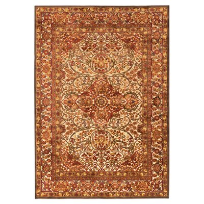 Sonnet Dark Brown & Bronze Area Rug Rug Size: Rectangle 52 x 76