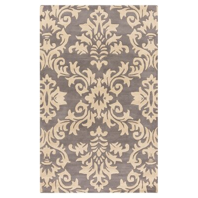 Ontario Hand-Tufted Gray/Khaki Area Rug Rug Size: Rectangle 8 x 11