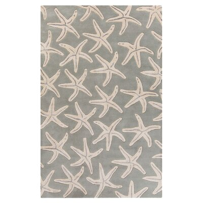 Brickyard Slate Gray/Oyster Gray Rug Rug Size: Rectangle 5 x 8