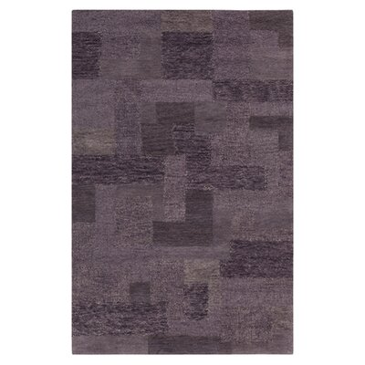 Cairn Hand-Woven Purple Sage/Dark Lavender Gray Area Rug Rug Size: 5 x 8