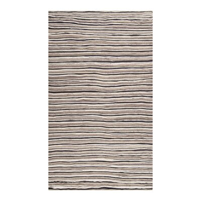 Harrington Dark Taupe Rug Rug Size: Rectangle 2 x 3