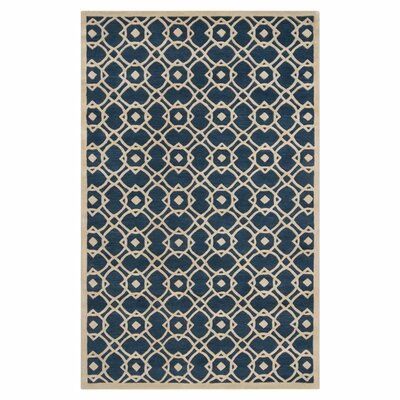 Quenton Navy Area Rug Rug Size: Rectangle 33 x 53