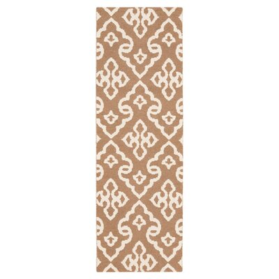 Radnor Driftwood Brown Area Rug Rug Size: Runner 26 x 8
