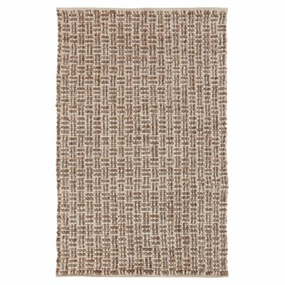 Steuben Tawny Brown Rug Rug Size: Rectangle 33 x 53