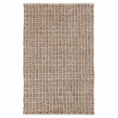 Steuben Tawny Brown Rug Rug Size: 8 x 11