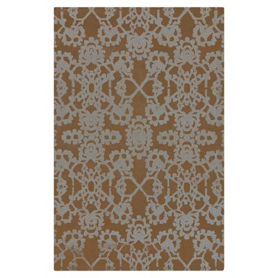 Williams Brown/White Area Rug Rug Size: Rectangle 2' x 3'