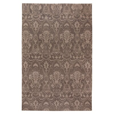 Charlesworth Brown Rug Rug Size: 5 x 8