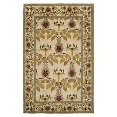 Carroll Ivory Area Rug Rug Size: Rectangle 2 x 3