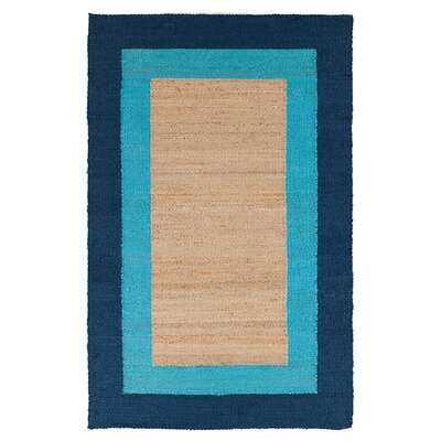 Charlee Bright Cerulean Rug Rug Size: 5 x 8