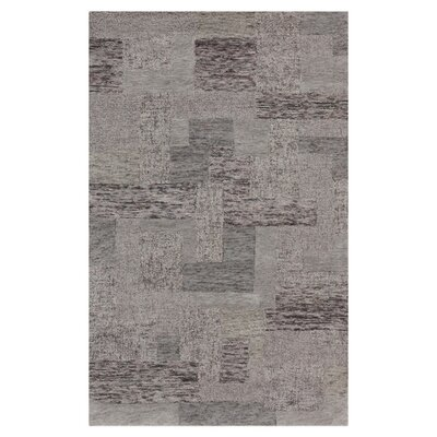 Suzanne Hand-Woven Light Gray Area Rug Rug Size: 2 x 3