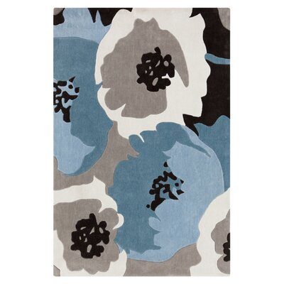 Postma Blue Area Rug Rug Size: Rectangle 2 x 3