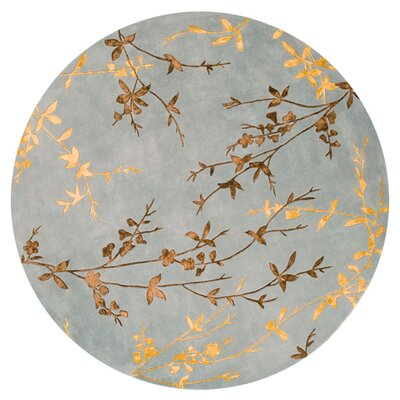 Gonzalo Floral Rug Rug Size: Round 8