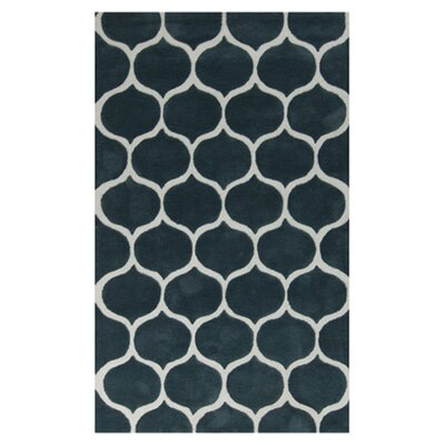 Cortez Teal Blue/Peach Cream Rug Rug Size: 8 x 11