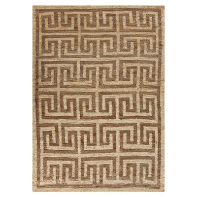 Clarke Moth Beige Rug Rug Size: Rectangle 5 x 8
