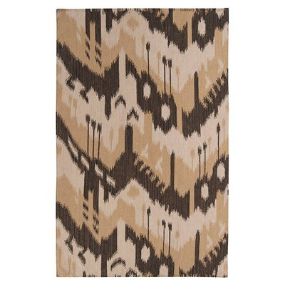Double Mountain Bronze/Dark Khaki �Rug Rug Size: Rectangle 3'6