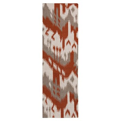 Double Mountain Adobe & Brindle Area Rug Rug Size: Runner 2'6