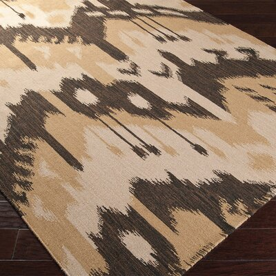 Double Mountain Bronze/Dark Khaki �Rug Rug Size: 2 x 3