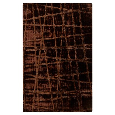 Halterman Brown Area Rug Rug Size: 5 x 8