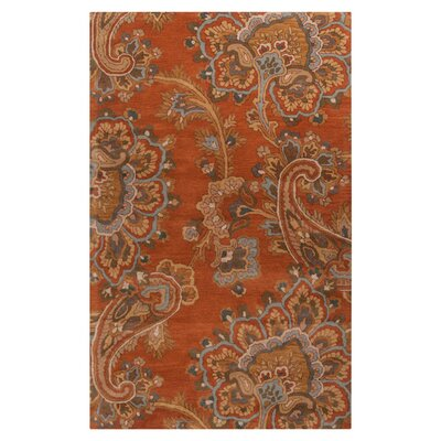 Busch Copper Penny Hand-Woven Rug Rug Size: Rectangle 8 x 11