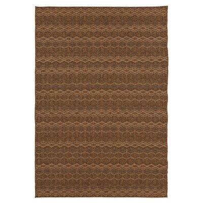 Janessa Bronze Indoor/Outdoor Area Rug Rug Size: 710 x 111