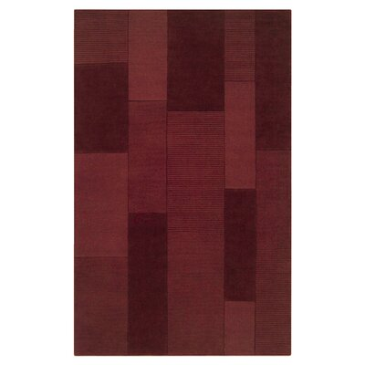 Juney Red Area Rug Rug Size: Rectangle 2 x 3