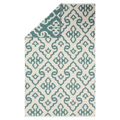 Radnor Ivory Area Rug Rug Size: Rectangle 2' x 3'