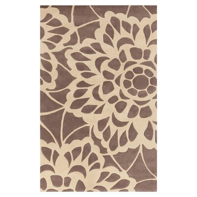 Felton Dark Taupe/Blond Rug Rug Size: Rectangle 2 x 3