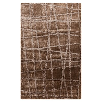 Halterman Silver Cloud & Brindle Area Rug Rug Size: 2 x 3