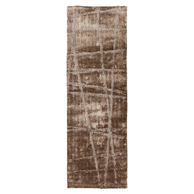 Halterman Silver Cloud & Brindle Area Rug Rug Size: Runner 26 x 8