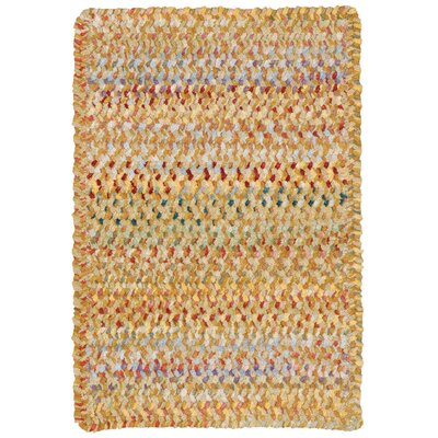 Wilhelmine Amber Area Rug Rug Size: Cross Sewn Square 3