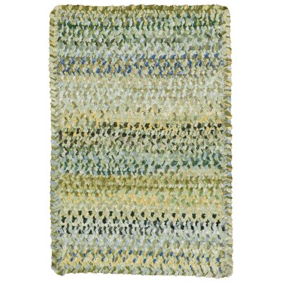 Wilhelmine Pale Green Area Rug Rug Size: Oval 92 x 132