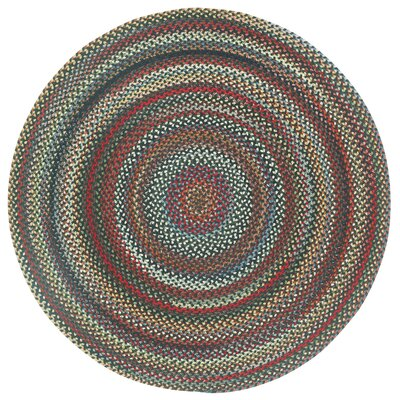 Portland Coal Variegated Area Rug Rug Size: Round 86