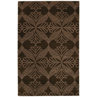 Picturesque Grace Cocoa Trellis  Area Rug Rug Size: 9 x 12