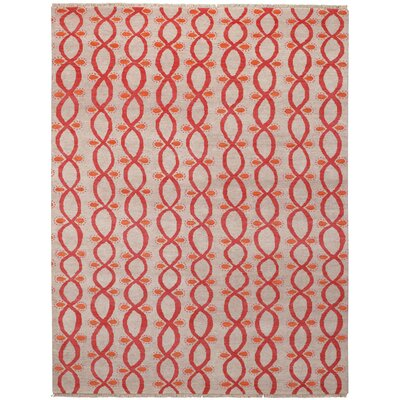 Eternity Buff Trellis Area Rug Rug Size: Rectangle 8 x 11