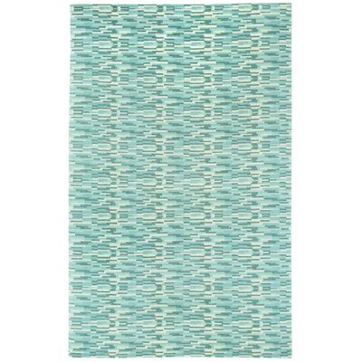 Sori Azure Silver Trellis Area Rug Rug Size: Rectangle 8 x 11