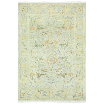 Sullivan Street Light Green Area Rug Rug Size: 56 x 86