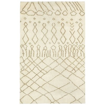 Fortress Marrakesh Beige Area Rug Rug Size: 3 x 5