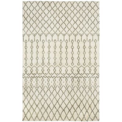 Fortress Beige Trellis Area Rug Rug Size: Rectangle 3 x 5