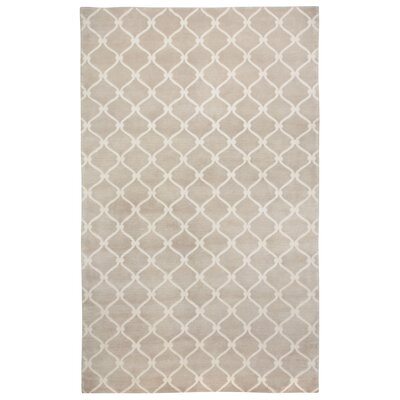 Cococozy Champagne/Ivory Geometric Area Rug Rug Size: Rectangle 8 x 11