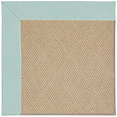 Zoe Machine Tufted Iceberg Indoor/Outdoor Area Rug Rug Size: Square 8
