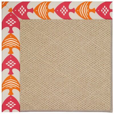 Zoe Machine Tufted Autumn Indoor/Outdoor Area Rug Rug Size: 5 x 8