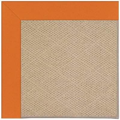 Zoe Machine Tufted Clementine Indoor/Outdoor Area Rug Rug Size: Square 4'
