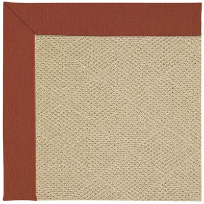 Zoe Machine Tufted Strawberry Indoor/Outdoor Area Rug Rug Size: Square 4