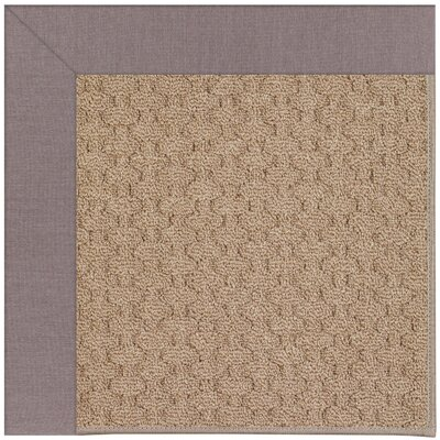 Zoe Grassy Mountain Machine Tufted Evening/Brown Indoor/Outdoor Area Rug Rug Size: Round 12 x 12