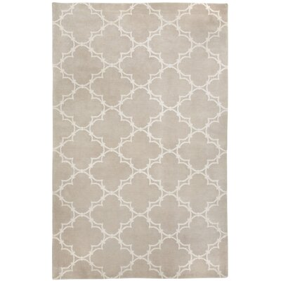 Cococozy Champagne / Ivory Yale Area Rug Rug Size: 8 x 11