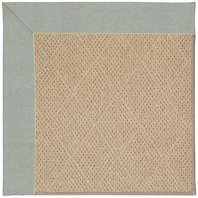 Zoe Machine Tufted Marine Blue Indoor/Outdoor Area Rug Rug Size: Square 6