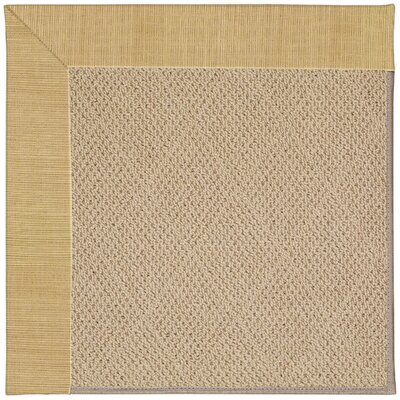 Zoe Machine Tufted Bramble/Brown Indoor/Outdoor Area Rug Rug Size: Square 6