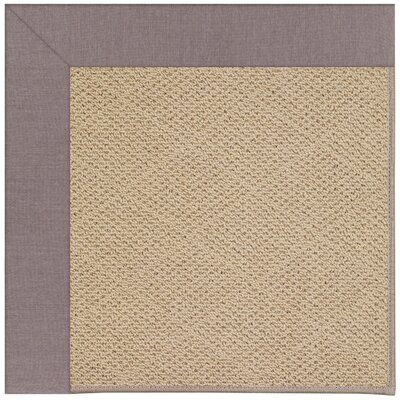 Zoe Machine Tufted Evening/Brown Indoor/Outdoor Area Rug Rug Size: Square 10